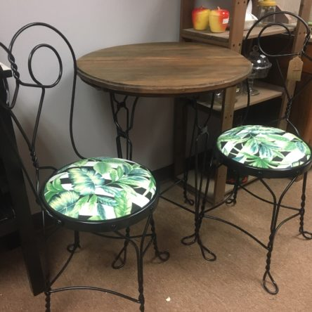 Ice Cream Parlor, Table & Chair Set